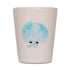 Glass Octopus c Shot Glass
