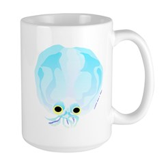 Glass Octopus c Mug