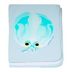 Glass Octopus c baby blanket