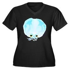 Glass Octopus c Plus Size T-Shirt