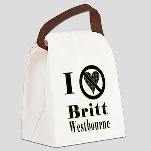 I Hate Britt Westbourne Canvas Lunch Bag