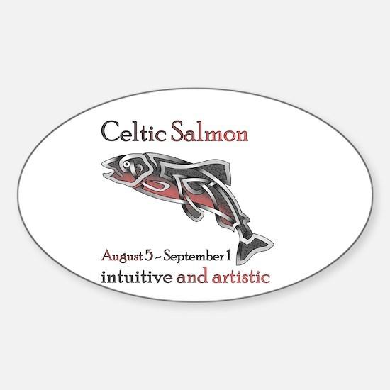 Celtic Salmon Decal