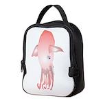 Flying squid v Neoprene Lunch Bag