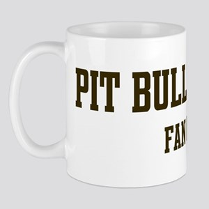 Pit Bull Terrier Fan Club Mug