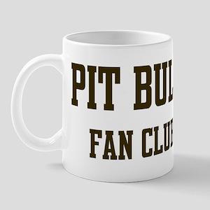 Pit Bull Fan Club Mug