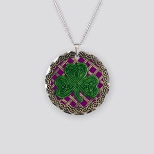 Shamrock And Celtic Knots Necklace