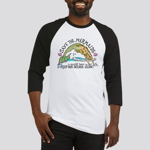 Save the Mermaids Baseball Jersey