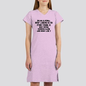 Dear Algebra Women's Nightshirt