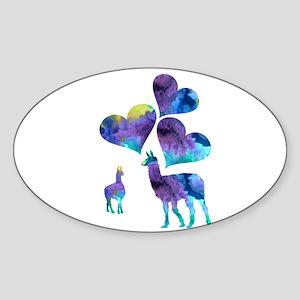 Llama Art Sticker