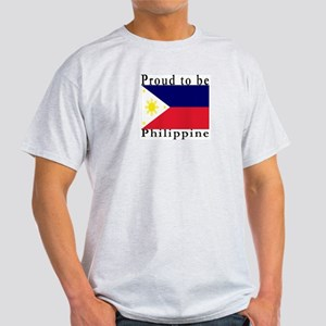 Philippines Ash Grey T-Shirt