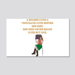 read1 Wall Decal