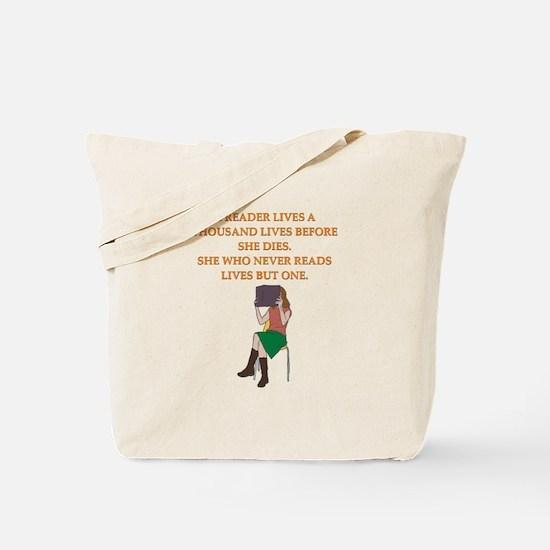 read1 Tote Bag