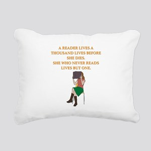 read1 Rectangular Canvas Pillow
