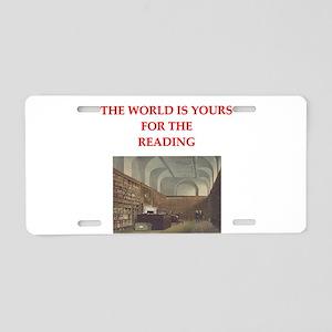 BOOKS3 Aluminum License Plate