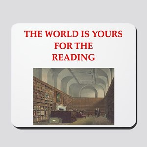 BOOKS3 Mousepad