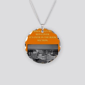 LIBRARY8 Necklace
