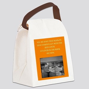 LIBRARY8 Canvas Lunch Bag