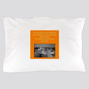 LIBRARY8 Pillow Case