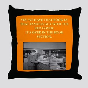 LIBRARY8 Throw Pillow