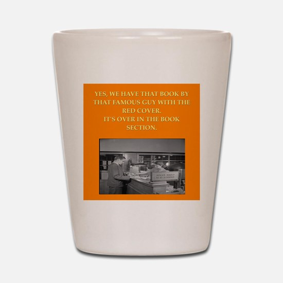 LIBRARY8 Shot Glass