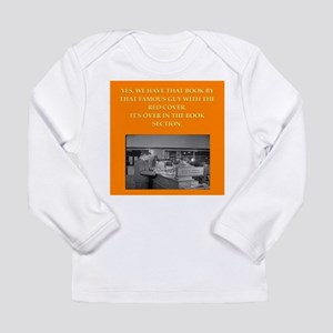 LIBRARY8 Long Sleeve T-Shirt