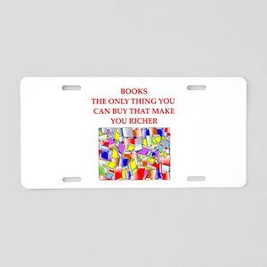 BOOKS2 Aluminum License Plate