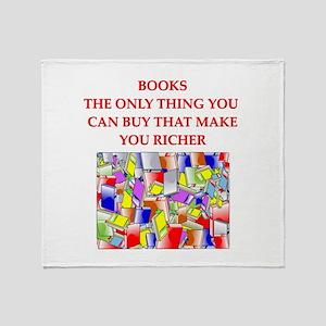 BOOKS2 Throw Blanket