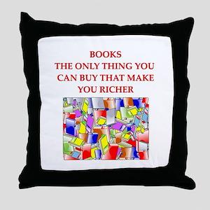 BOOKS2 Throw Pillow