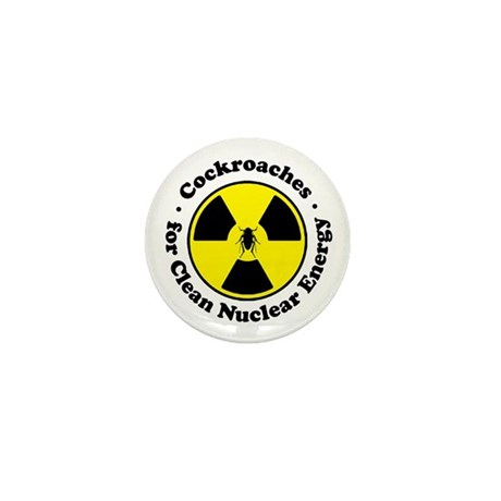 Nuclear Cockroaches Mini Button