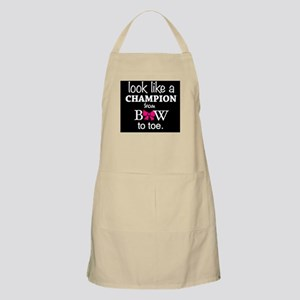 Look Like a Champion From Bow to Toe Apron