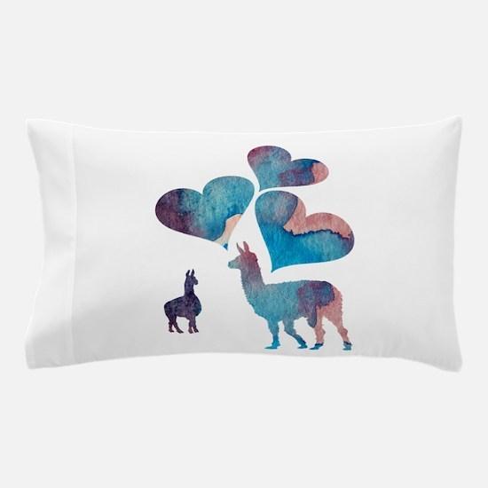 Llama Art Pillow Case