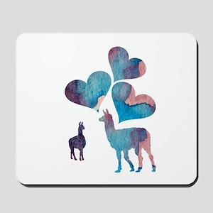 Llama Art Mousepad