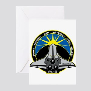 STS-132 Atlantis Greeting Cards (Pk of 10)
