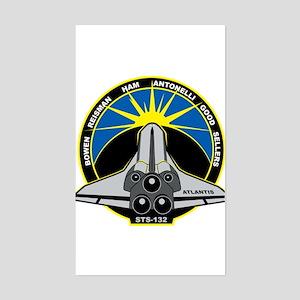 STS-132 Atlantis Sticker (Rectangle)