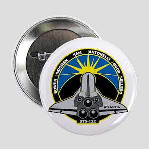 "STS-132 Atlantis 2.25"" Button"