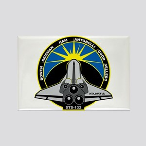 STS-132 Atlantis Rectangle Magnet