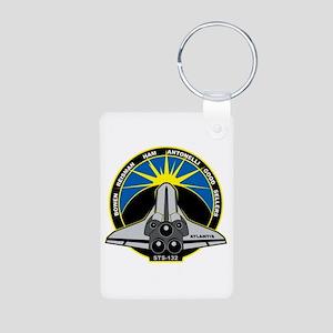STS-132 Aluminum Photo Keychain