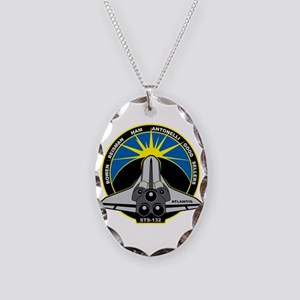STS-132 Necklace Oval Charm