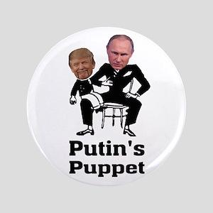 Trump Putin's Puppet Button