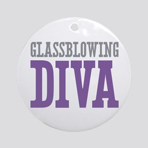 Glassblowing DIVA Ornament (Round)