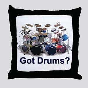 GOT DRUMS Throw Pillow