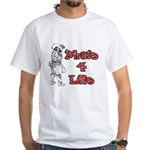 Pirate For Life White T-Shirt