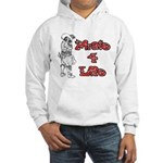 Pirate For Life Hooded Sweatshirt