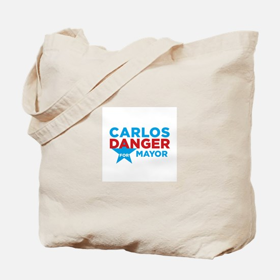 Carlos Danger for Mayor Tote Bag