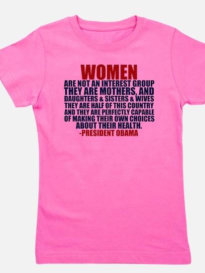 Pro Choice Women Girl's Tee