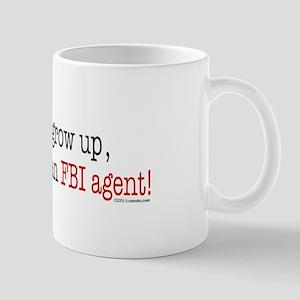 ... an FBI agent! Mug