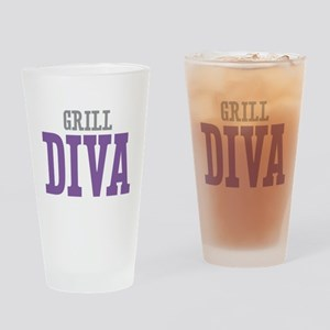 Grill DIVA Drinking Glass