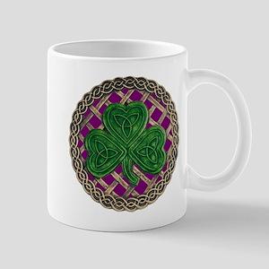 Shamrock And Celtic Knots Mug