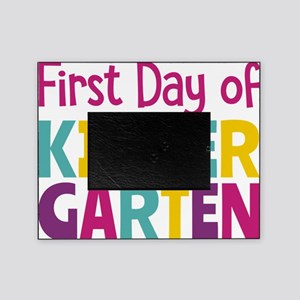 First Day of Kindergarten Picture Frame