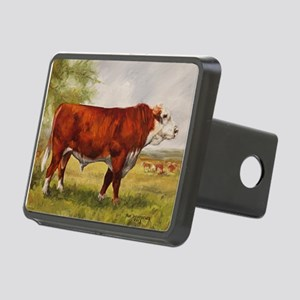 Hereford Bull The Champion Hitch Cover